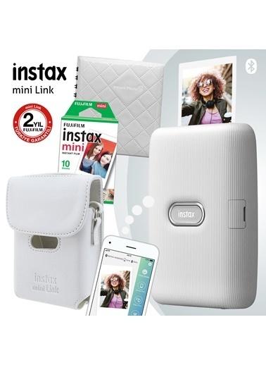 Fujifilm Instax Mini Link Beyaz Akıllı Telefon Yazıcısı Ve Hediye Seti 2 Beyaz